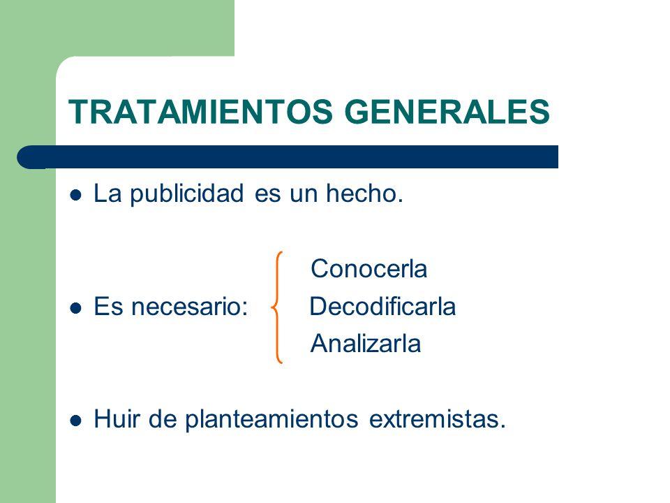 TRATAMIENTOS GENERALES