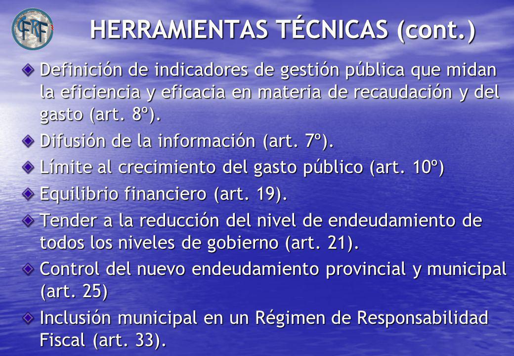HERRAMIENTAS TÉCNICAS (cont.)