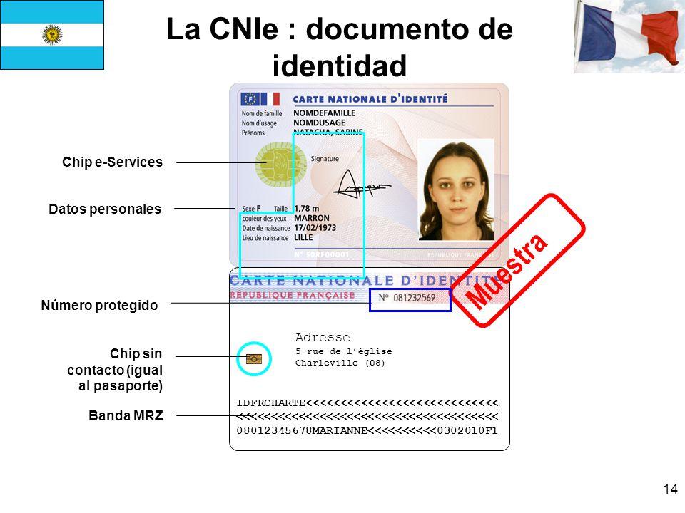 La CNIe : documento de identidad