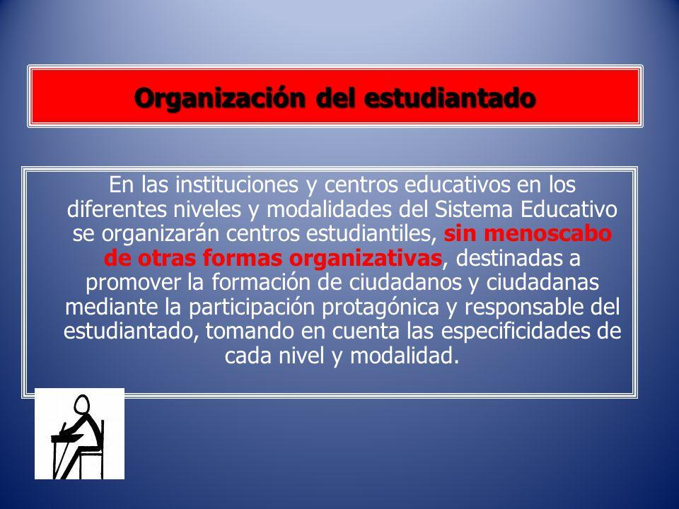 Organización del estudiantado