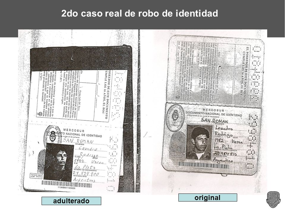 2do caso real de robo de identidad