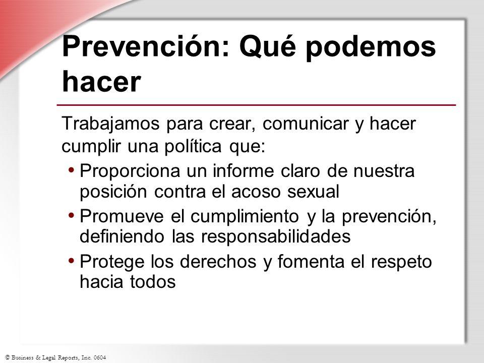 Prevención: Qué podemos hacer