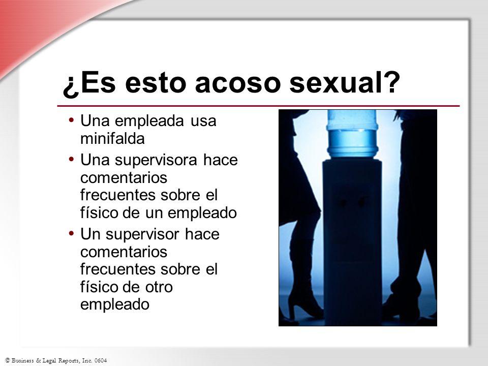 ¿Es esto acoso sexual Una empleada usa minifalda