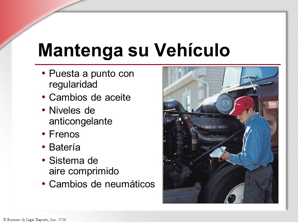 Mantenga su Vehículo Puesta a punto con regularidad Cambios de aceite