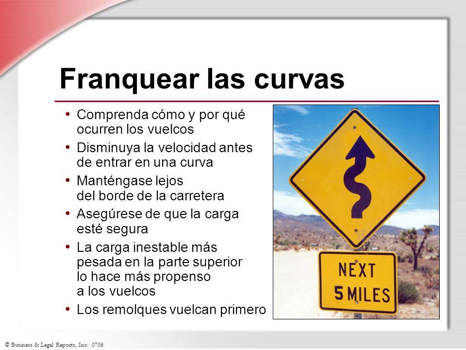 Franquear las curvas Comprenda cómo y por qué ocurren los vuelcos