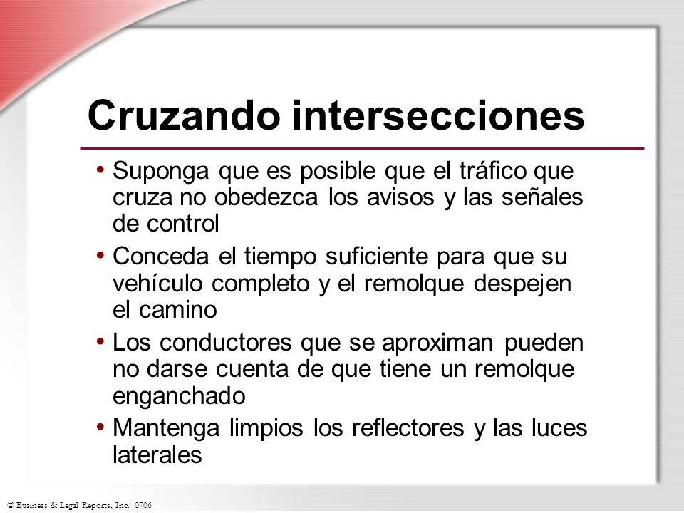 Cruzando intersecciones