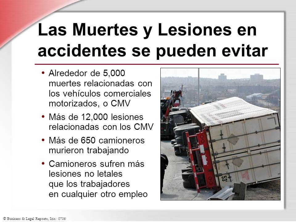 Las Muertes y Lesiones en accidentes se pueden evitar