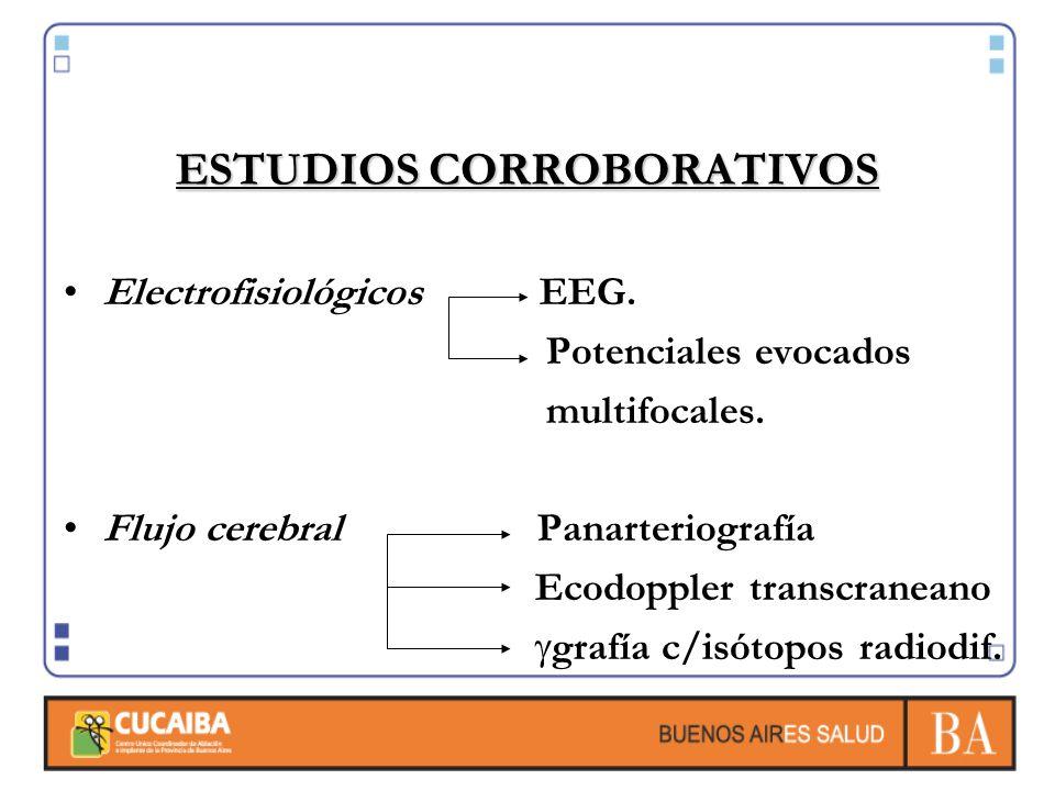 ESTUDIOS CORROBORATIVOS