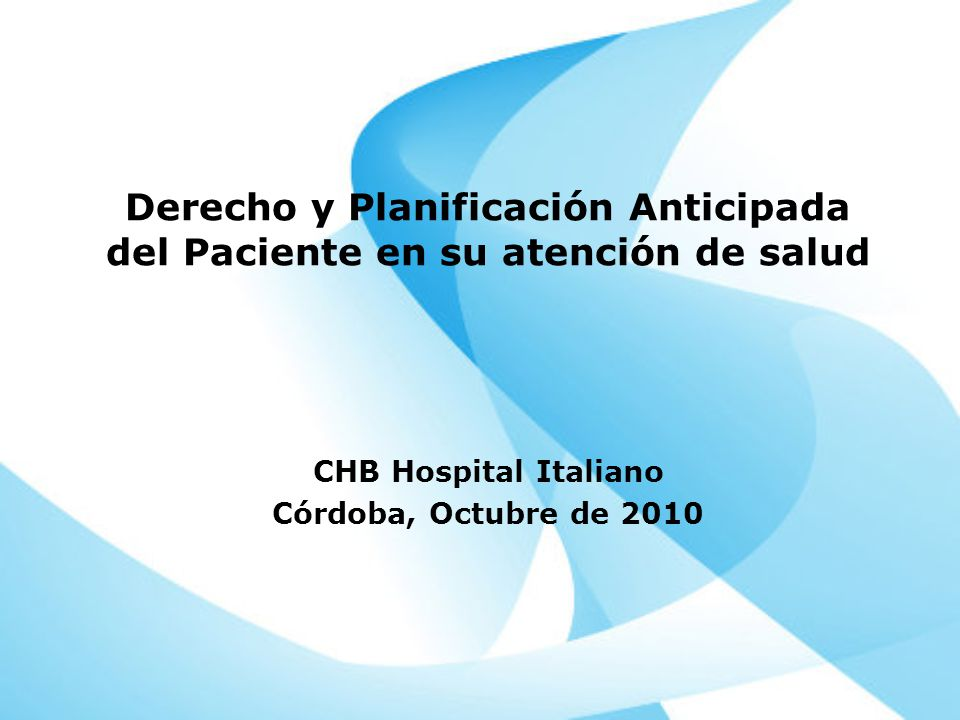 CHB Hospital Italiano Córdoba, Octubre de 2010