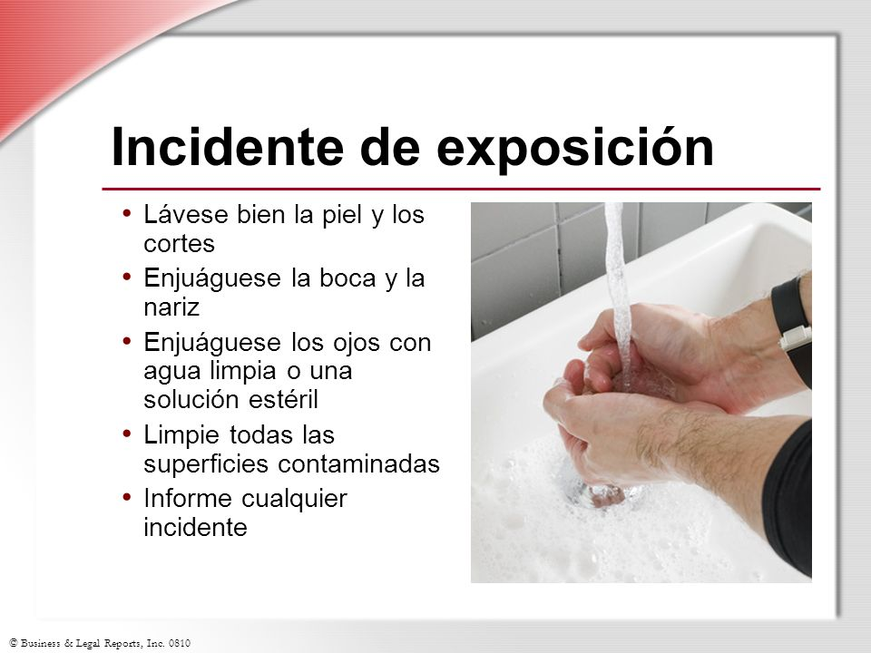Incidente de exposición