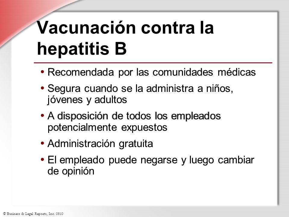 Vacunación contra la hepatitis B