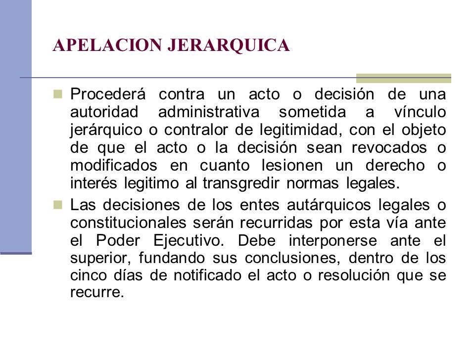 APELACION JERARQUICA