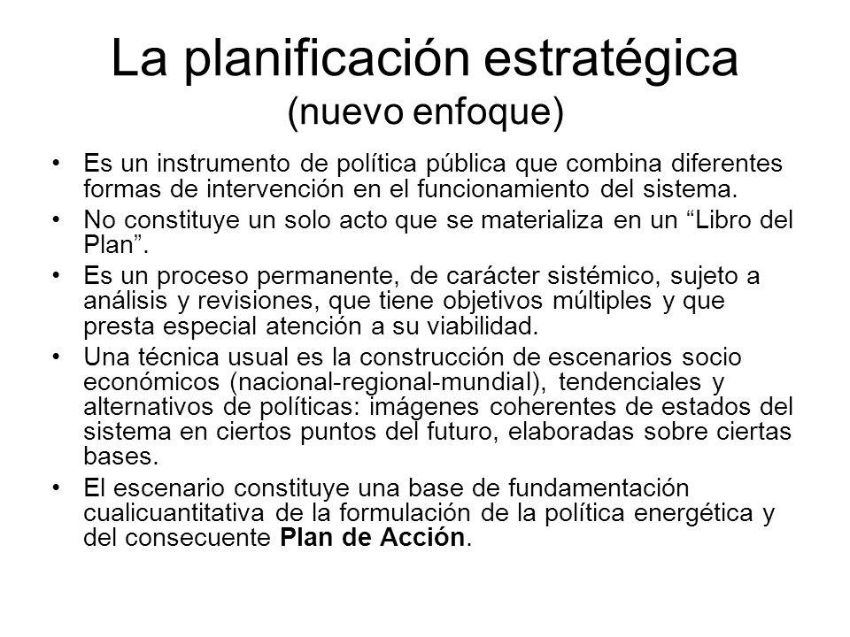 La planificación estratégica (nuevo enfoque)
