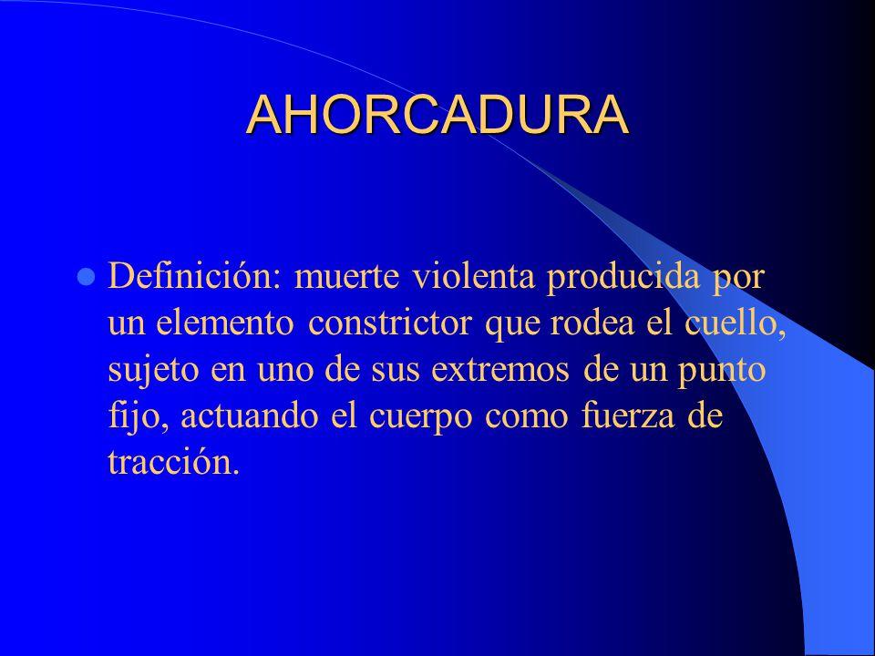 AHORCADURA