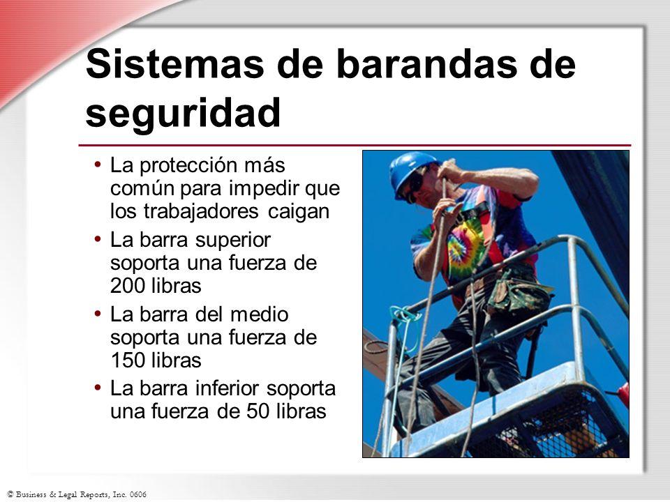 Sistemas de barandas de seguridad