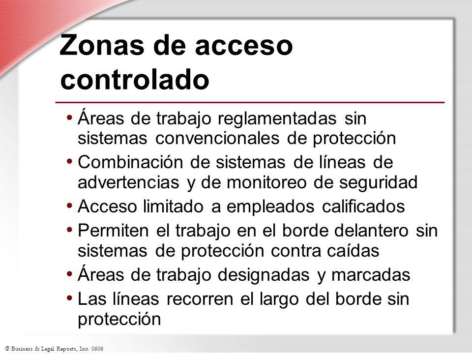 Zonas de acceso controlado