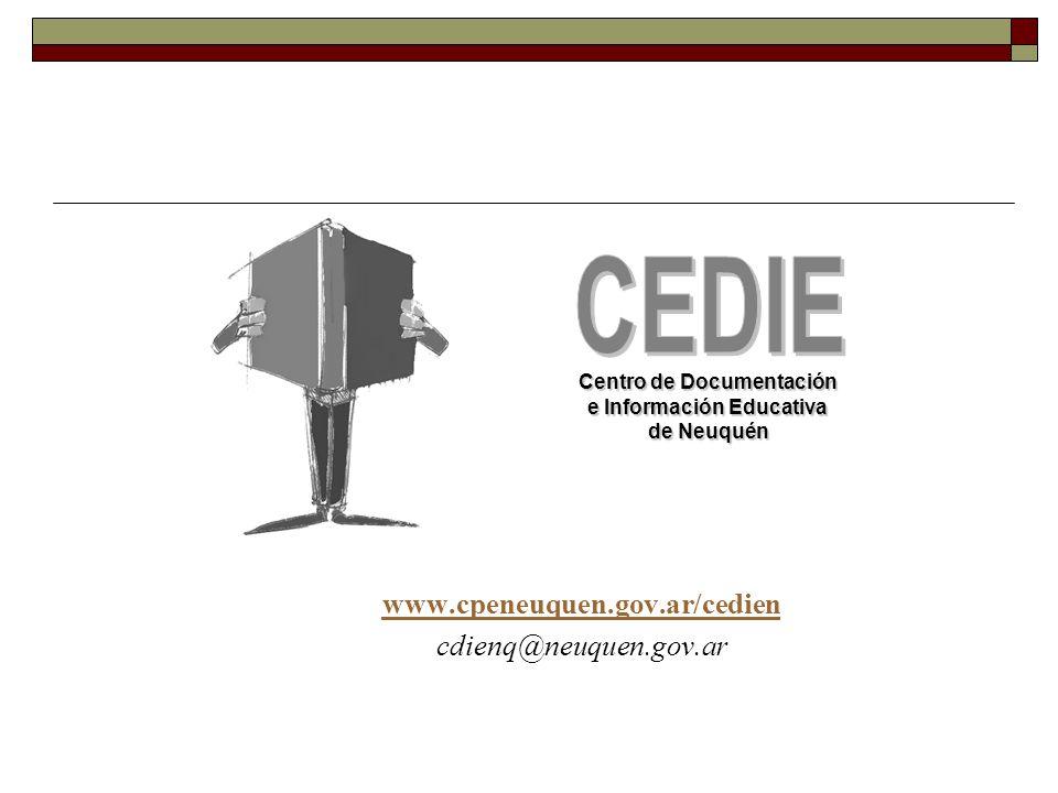 Centro de Documentación e Información Educativa