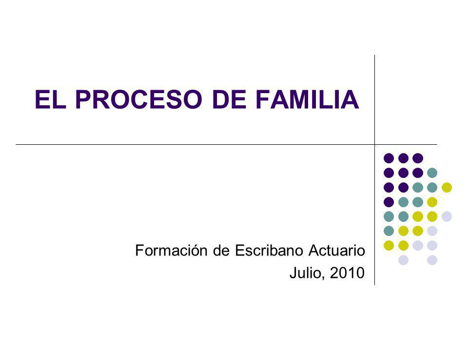 Formación de Escribano Actuario Julio, 2010