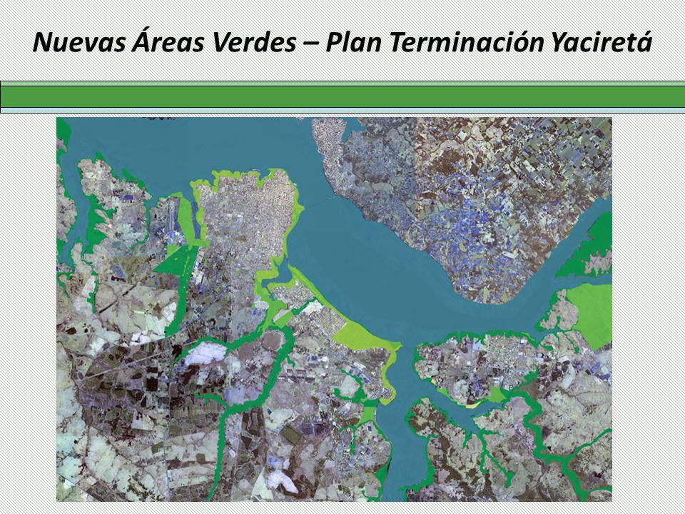 Nuevas Áreas Verdes – Plan Terminación Yaciretá
