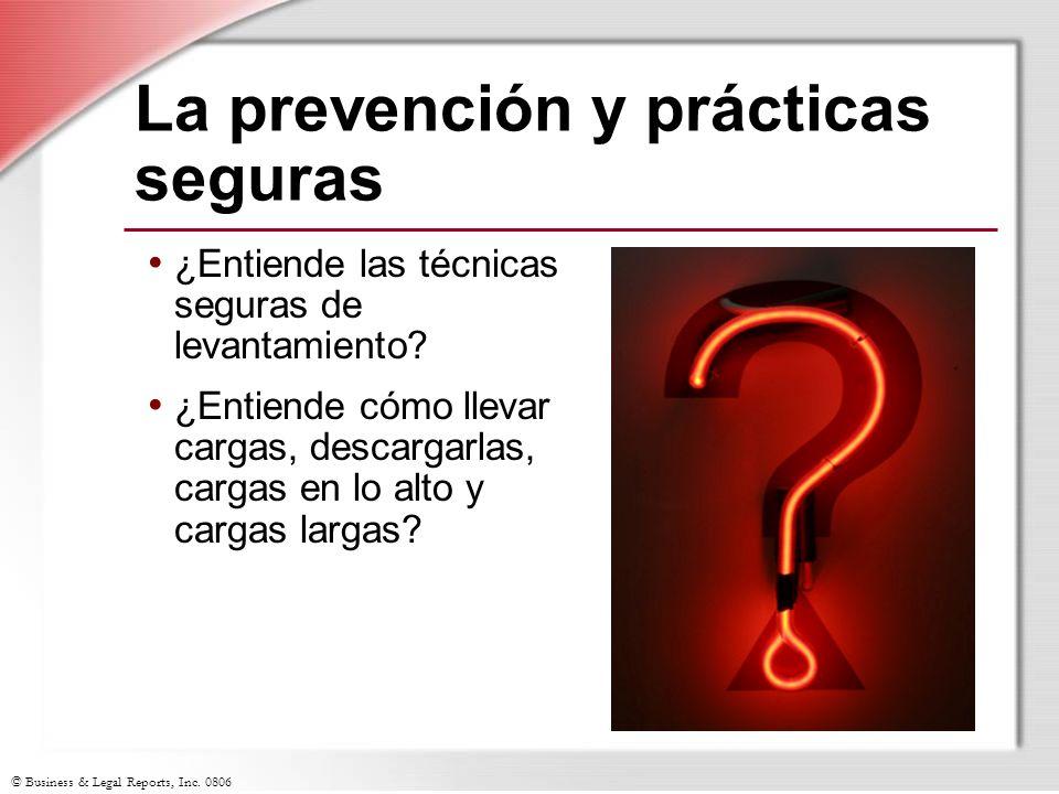 La prevención y prácticas seguras