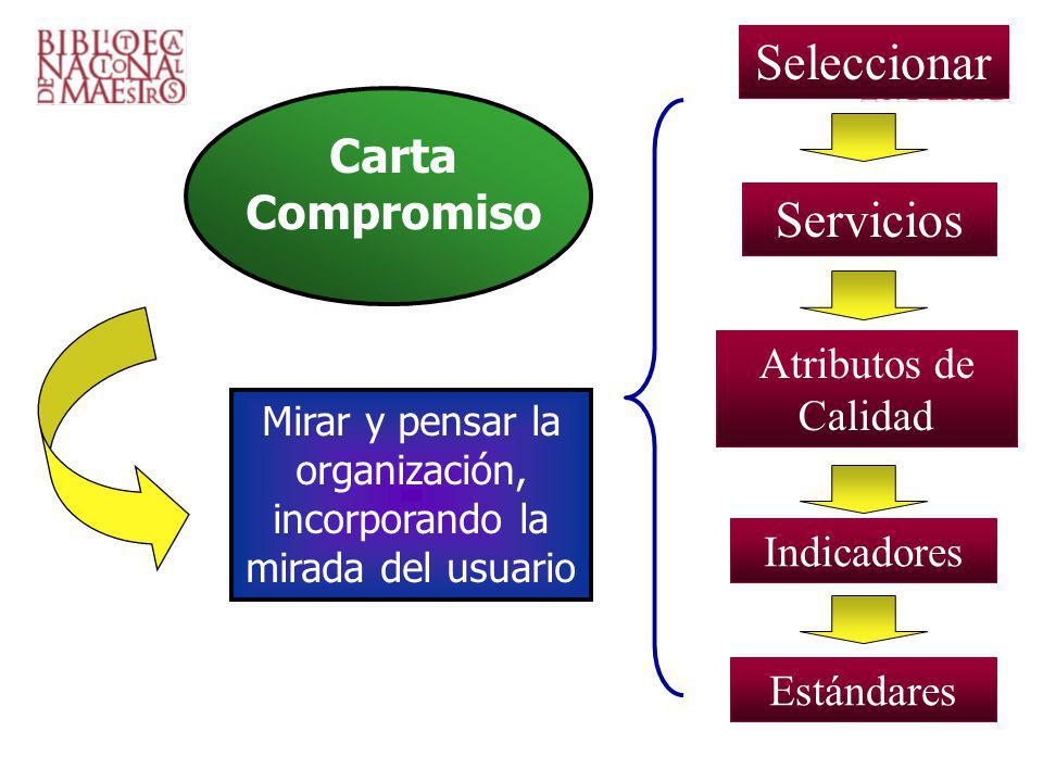 Mirar y pensar la organización, incorporando la mirada del usuario