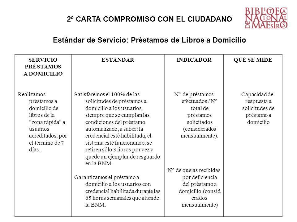 2º CARTA COMPROMISO CON EL CIUDADANO