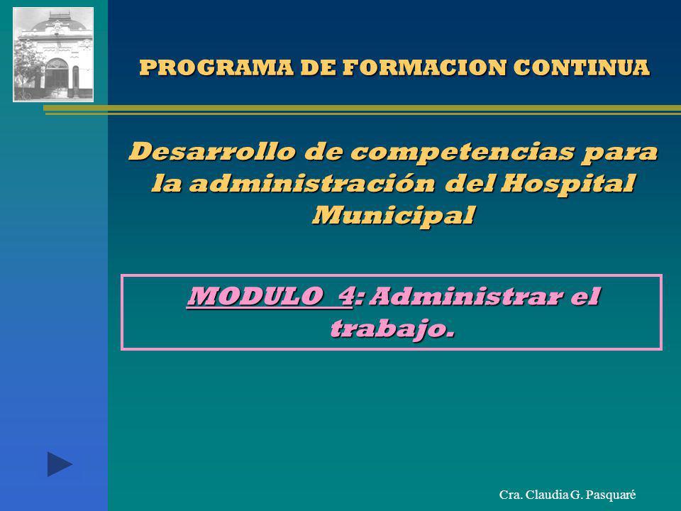 PROGRAMA DE FORMACION CONTINUA