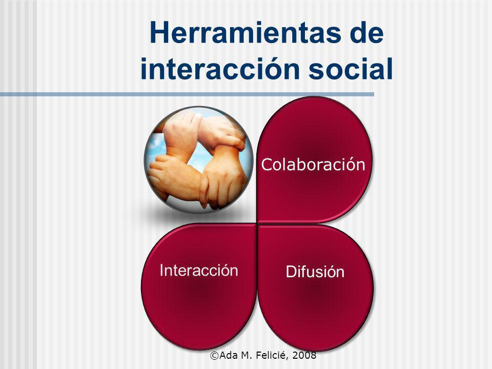 Herramientas de interacción social