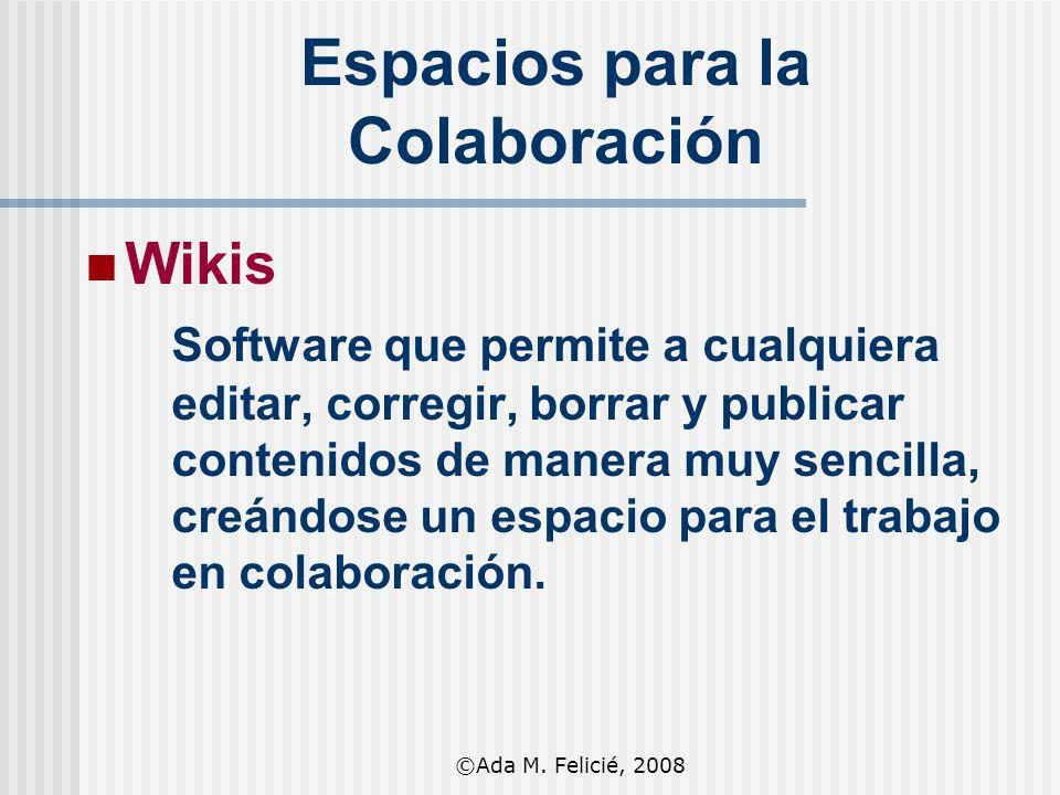 Espacios para la Colaboración