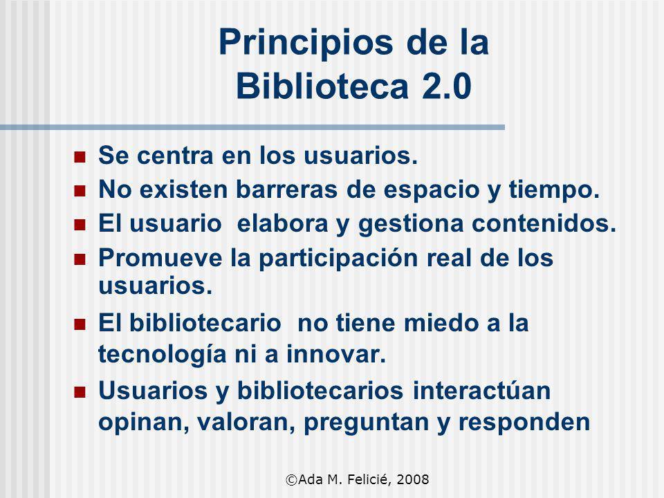 Principios de la Biblioteca 2.0