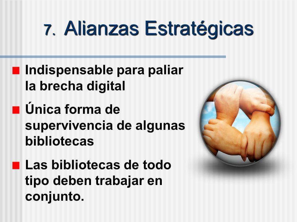 7. Alianzas Estratégicas