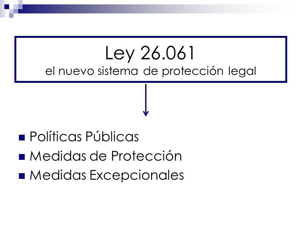 Ley 26.061 el nuevo sistema de protección legal