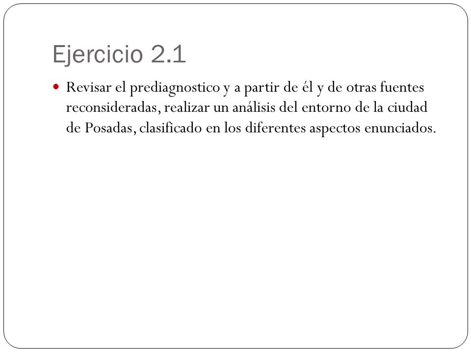 Ejercicio 2.1