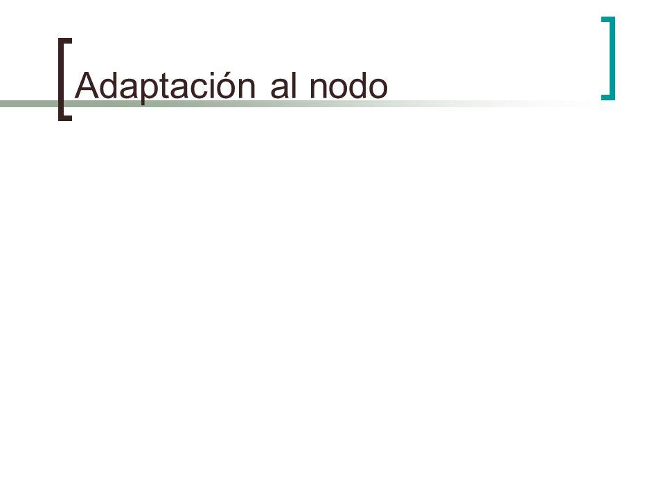 Adaptación al nodo