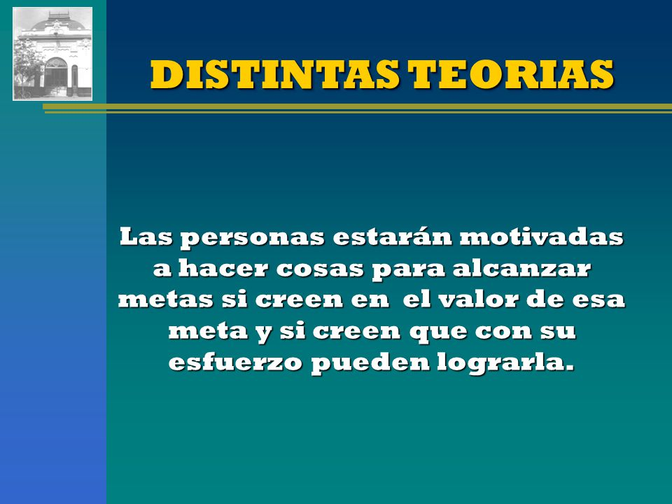 DISTINTAS TEORIAS
