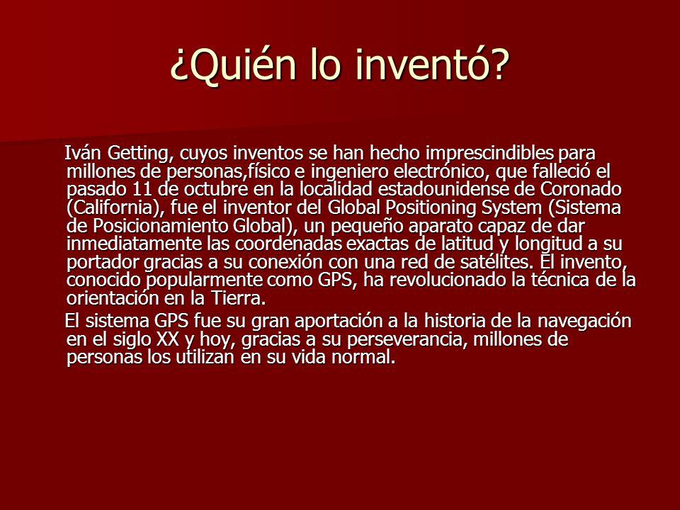 ¿Quién lo inventó