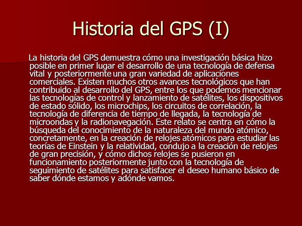 Historia del GPS (I)