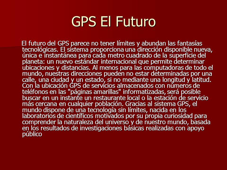 GPS El Futuro
