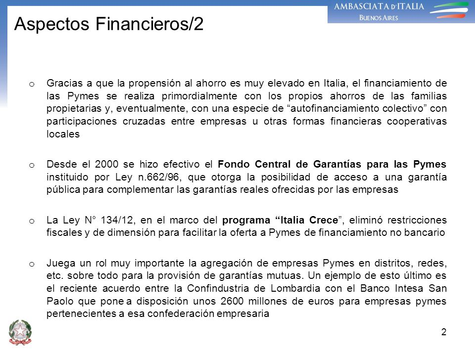 Aspectos Financieros/2