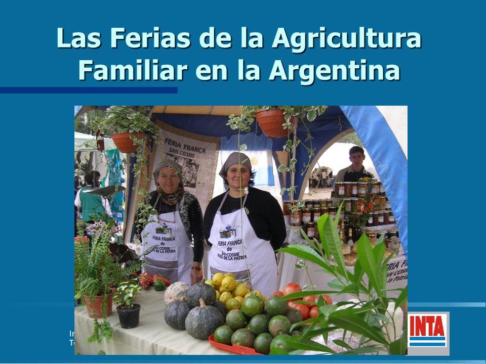 Las Ferias de la Agricultura Familiar en la Argentina