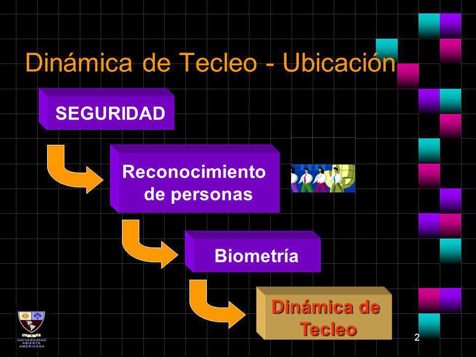 Dinámica de Tecleo - Ubicación