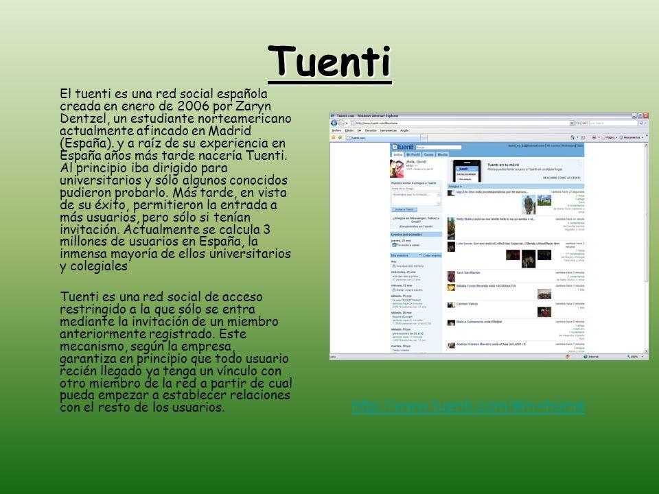 Tuenti http://www.tuenti.com/#m=home