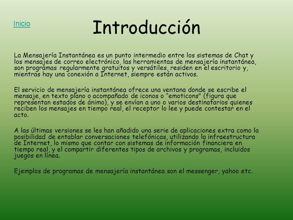 IntroducciónInicio.