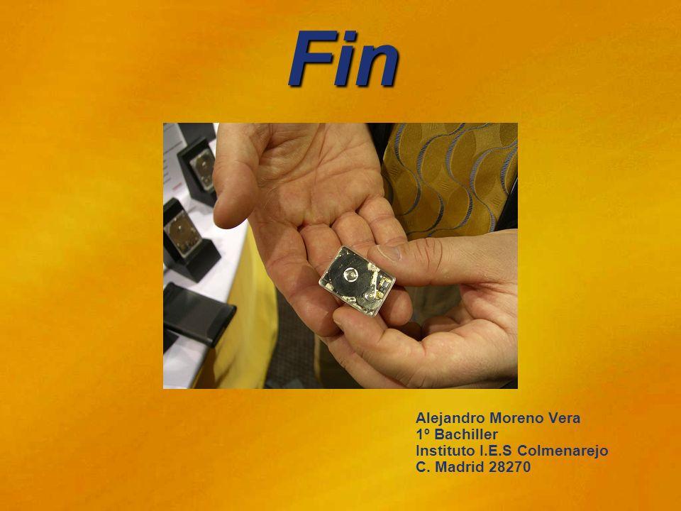 Fin Alejandro Moreno Vera 1º Bachiller Instituto I.E.S Colmenarejo