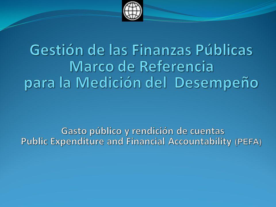 Gestión de las Finanzas Públicas Marco de Referencia