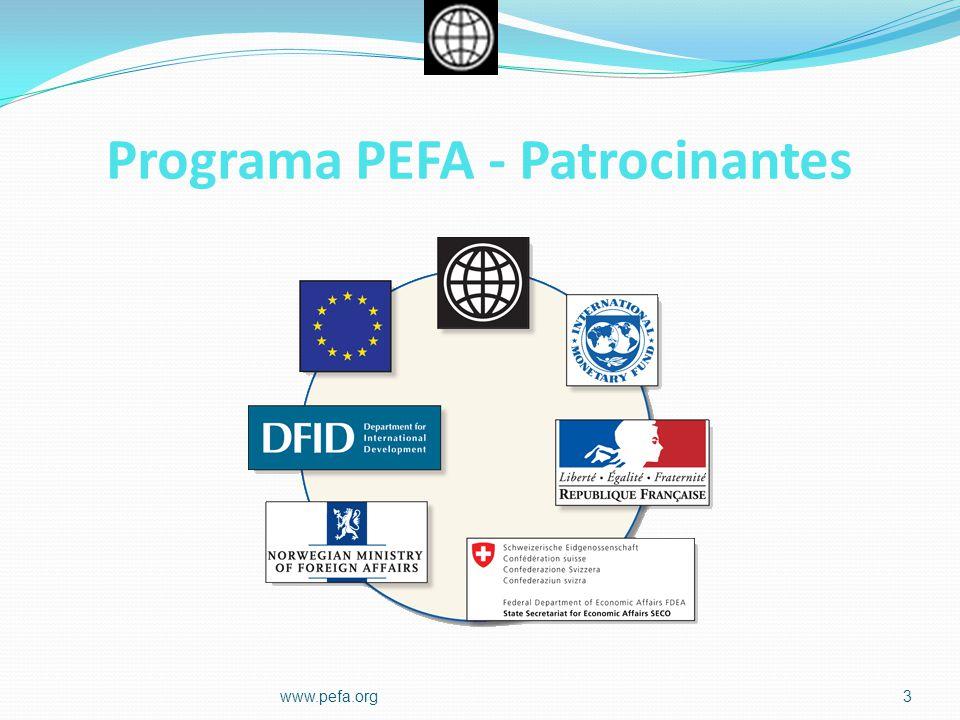Programa PEFA - Patrocinantes