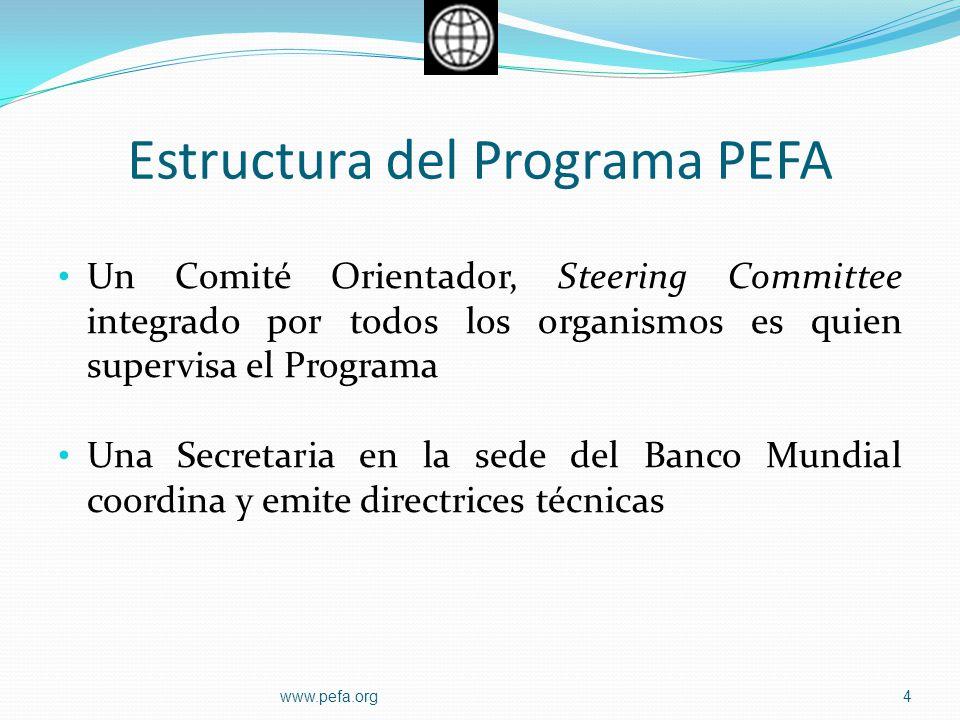 Estructura del Programa PEFA