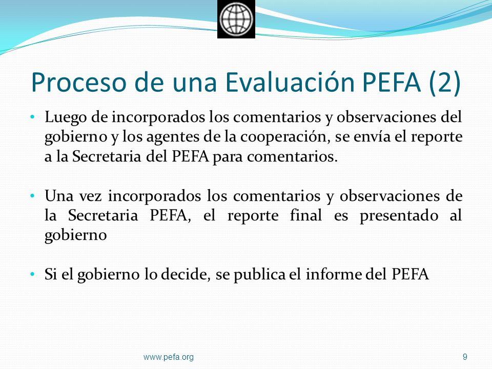 Proceso de una Evaluación PEFA (2)