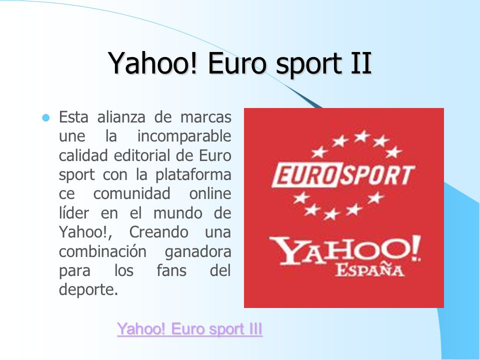 Yahoo! Euro sport II