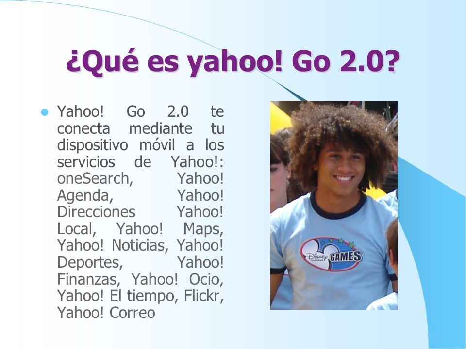 ¿Qué es yahoo! Go 2.0